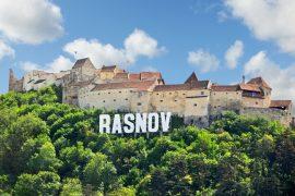 The Rasnov citadel